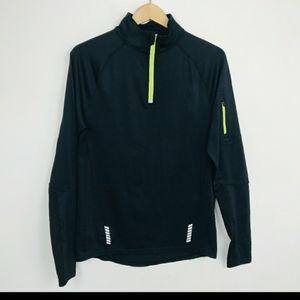 Fila Pullover Sport Man 1/2 Zip Black Sz: S